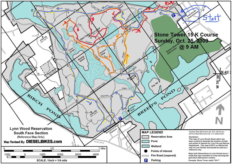 Stone Tower Trail Run Challenge at Lynn Woods